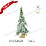 Factory Price H2.3 Feet Plastic Christmas Decorations Commerical Artifical Tree
