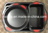 Kitchenware 4PCS Carbon Steel Non-Stick Coating Bakeware Set