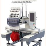 Single Head Embroidery Machine Computer Cap Embroidery Machine for Tubular Tshirt Cap Falt Industrial Embroidery