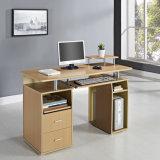 Computer Desk MDF Black White Beech Walnut Home Office PC Table Work Station MDF