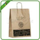Custom Printed Kraft Paper Bag with Company Logo