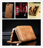 Cell Mobile Accessories Luxury PU Leather Case for Samsung Cover