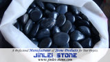 Polished Black Pebble Stone for Garden Yard/Paving/Landscape/Home Decoration