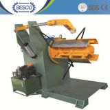 Hydraulic Decoiler/Uncoiler/Unwinder/Recoiler with Inverter Control, Coil Car and Press Arm