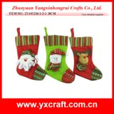 Christmas Decoration (ZY14Y236-1-2-3) Christmas Sock