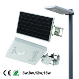 20W Integrated Solar Path Lamp for 6m Light Pole