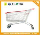High Quality Double-Deck Handling Basket Trolley for Suppermarket Asian European German Style Optional