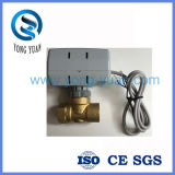 Two-Way on/off Electric Actuated Valve Motorized Valve for Fan Coil (BS-848)