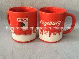 Full Sandblast Ceramic Mug, Football Club Ceramic Mug