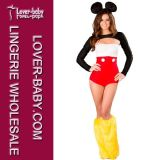 Halloween Sexy Woman Adult Mouse Costume (L1440)