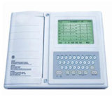 Six Channels 12 Leads Color LCD Portable ECG