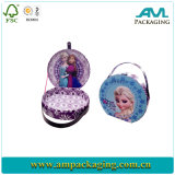 Cute Beauty Gift Handmade Fashion Paper Box with Handle