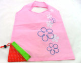 Cheap Durable Strawberry Folding Shopping Bag (FB-45775)