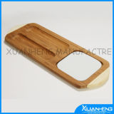 Bamboo Cheese Cutting Board with Knife
