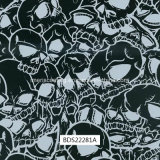Skull Pattern Hydrographics, Water Transfer Printing, Liquid Image, PVA Films for Outdoor Items and Motorbike (BDS22281A)