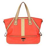 2014 Contrast Color Fashion Women Tote Handbags