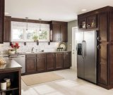 L Shape Wholesale Solid Wood Kitchen Cabinet