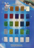 Color Card for Cosmetic Grade Glitters