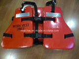 PVC Light Weight Oil Rig Work Life Jacket Vest