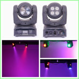 Double Faced 8PCS 8W RGBW 4in1 LED Mini Moving Head Wash Light for Stage Disco with Ce