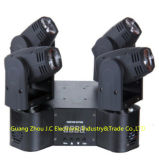 LED Round 4 Head 12W RGBW 4in1 Moving Head Beam Light