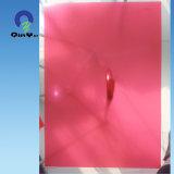 0.19mm Stationary Red Grain Matt Matt Fine Frost Rigid PVC Sheet