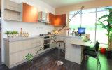 Melamine Surface Wooden Kitchen Cabinet (ZS-382)
