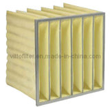 Synthetic Fiber Pocket Filter Middle Efficiency Synthetic Fiber Pocket Air Filter