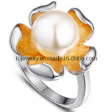 Stainless Steel Rings Jewelry with Pearl / Ball
