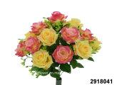 Artificial/Plastic/Silk Flower Rose Bush (2918041)