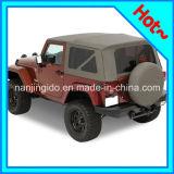 Soft Top with Tinted Windows for Jeep Wrangler Jk 2 Door 2010 - 2016