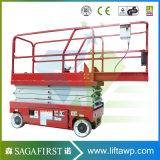 6m 1ton Hydraulic Automatic Driveable Electric Scissor Man Lift