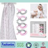 Gift Pram Pegs Sets Baby Cotton Gauze Wrap Swaddle Blanket