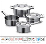 7PCS Unique China Stainless Steel Cookware Set