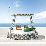 Unique Style Beautiful Handmade Sun Bed Use in Garden and Pool, Outdoor Luxury Quality Wicker Rattan Daybed with Canopy