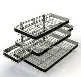 Counter Display Shelf Wire Rack Steel Rack with Ce (G-CD02)