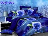 Blue Rose 4PCS Bedding Set of Hot-Selling in American Market