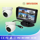 7inch TFT Digial Monitor /Mini Dome CCD Camera for Bus