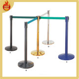 U-Shape Stackable Retractable Belt Crowd Control Stanchions for Sale, Queue Barrier, Queue Pole