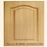 PVC Foil Wooden Door Kitchen Cabinet Door (ZH-8002)