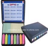 Promotion Adhesive Leather Cover Note Memo