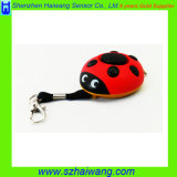 130dB Ladybug Personal Safety Alarm Portable Emergency Whistle Alarm for Ladies, Children, Elderly