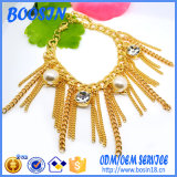Wholesale Custom 18k Gold Tassel Bracelet for Party Girls