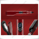 2016 New Travel Size Ceramic Electric Steam Hair Straightener Comb