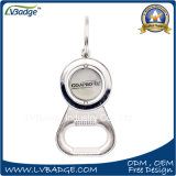 Round Shaped Rotate Metal Key Holder with Bottle Opener