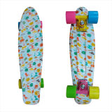 22inch PP Mini Skateboard Cruiser Complete Skateboards Banana Skateboard Limited Cartoon Desing -9