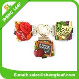 Hot Sale Key Chain Rubber Handmade Craft Mini Bible Book