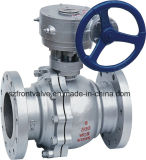 Gear Operated Flanged End Ball Valve