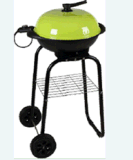 "Electric BBQ with ""N ""Shape Trolley"