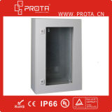 Waterproof Metal Wall Mounting Enclosures with Plexiglass Door